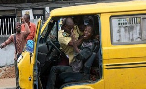 *File Photo: LASTMA Officer in action
