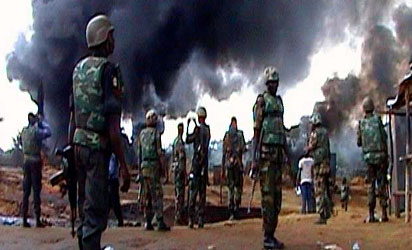 File photo: A military operation...