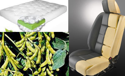 Pix Shows Top Soy Based Mattress Foam Down Soybeans And Right Ford S Seat