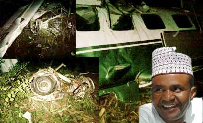 Crash : AIB to take engine of Late Suntai.'s aircraft to U.S.