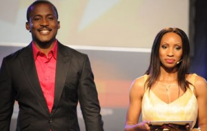 *Joseph hosting Project Fame with Adora Oleh