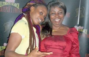 Onyinye and her mother, Barr. Martha Udodi