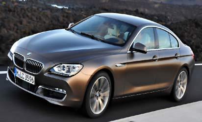 *BMW 6 series Gran Coupe