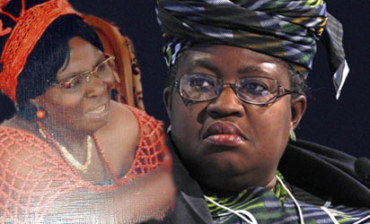 File photo: Prof Kamene Okonjo and Minister of Finance, Prof. Okonjo-Iweala