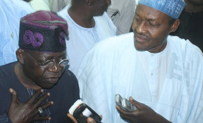Tinubu and Buhari - leaders of opposition parties
