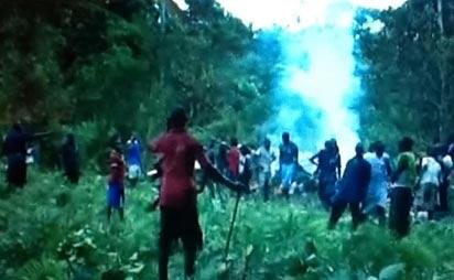 File photo: Scene of the crash, near Okoroba in Nembe Local Government Area of Bayelsa state. Photo: Samuel Oyandongha.