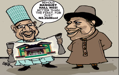 Outrage greets N2 2b presidential banquet hall - Vanguard News Nigeria
