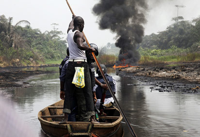 File: pipeline fire at Arepo