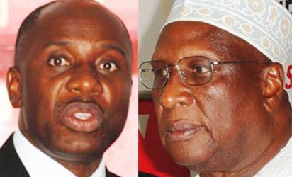 Amaechi, Chairman, Nigeria Governors Forum; and the national chairman, PDP, Alhaji Bamanga Tukur