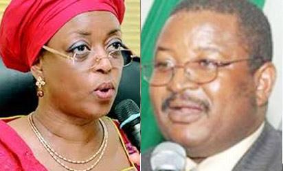 Minister of Petroleum, Alison-Madueke and NNPC GMD, Andrew Yakubu