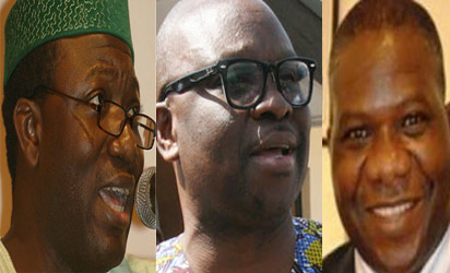 Fayemi, Fayose and Bamidele