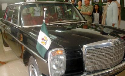 Late Gen. Murtala Muhammed's  Benz