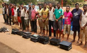 *End of the road for suspected fraudsters