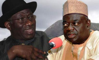 Goodluck Jonathan and Babangida Aliyu