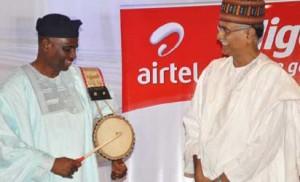 Incoming Airtel CEO Segun Ogunsanya beats drum for his predecessor Rajan Swaroop March 23 at send forth