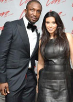Darey and Kim Kardashian
