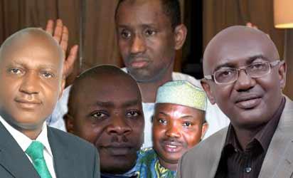 Nweze, Okoy, Ribadu, Odumakine  and Maduekwu