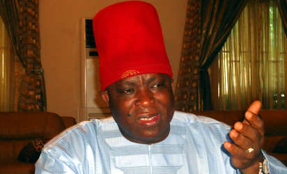 Umeh tasks INEC on Anambra Senatorial re-run election