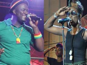 Moses and Debbie performing...Nigerian Idol season 3