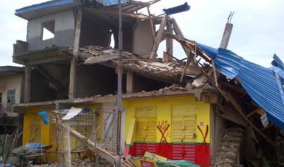 Collapse-building-Ikorodu