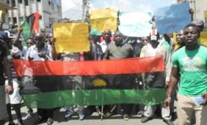 File: MASSOB protests