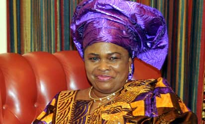 The First Lady, Dame Patience Jonathan