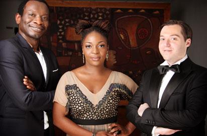 Azu Nwagbogu, Wunika Mukan and Joseph Gergel