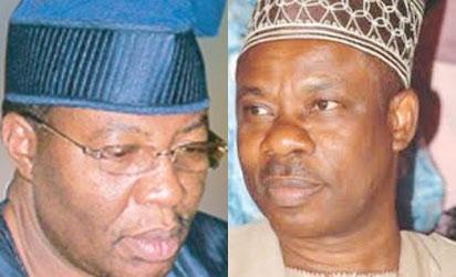 Former Gov Daniel and Gov Amosun