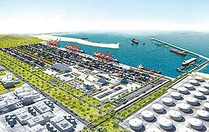 * Lekki model sea port