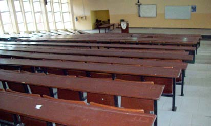 Law lecture theater, University of Ibadan