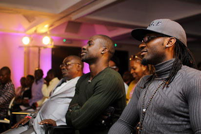 2nd from right Chris Attoh & Gbenro Ajibade