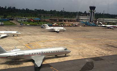 Akanu Ibiam International Airport, Enugu.