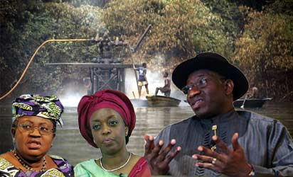 Okonjo-Iweala, Diezani and Jonathan