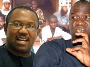 Anambra State Governor, Peter Obi and Lagos State Governor, Babatunde Fashola