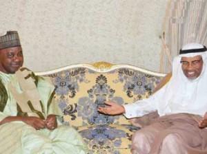 Vice President Namadi Sambo received the President of Islamic Development Bank, Dr. Ahmad Mohamed Ali  Al-Madani during a courtesy call  at  Makka Conference Palace Hotel  On Sunday