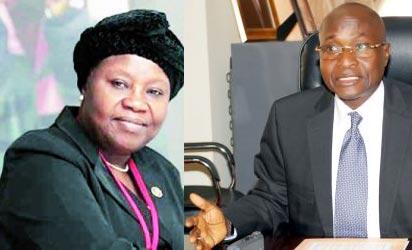 *CJN Aloma Mariam Mukhtar and Justice Hassan Lawal Gunmi,