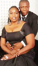 Chico Ejiro and wife, Joy