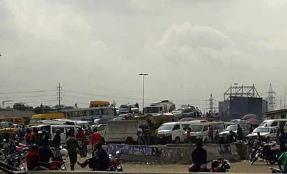 A Lagos motor-park