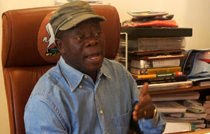 DEFEAT OF DEVOLUTION OF POWER: Former governors in NASS failed Nigerians  —Oshiomhole