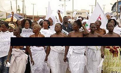 *Protesting women