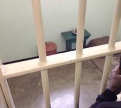 *Nelson Mandela's cell in Block B, always kept neat