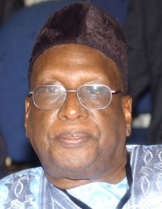Alhaji Bamanga Tukur, the National Chairman of the Peoples Democratic Party (PDP)