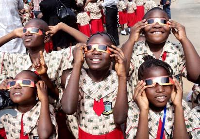 Children in Abuja, today.