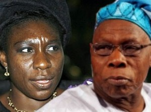 Iyabo Obasanjo and Chief Olusegun Obasanjo