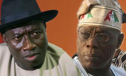 Jonathan and Obasanjo