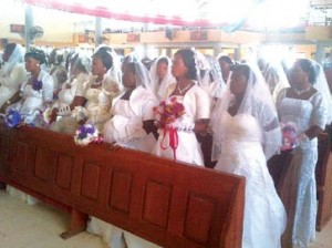 *Some of the brides