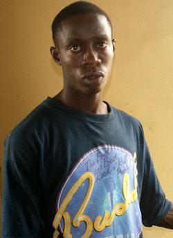 *Ikechukwu Friday, the suspect