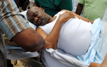 Senator Abe taken to hospital