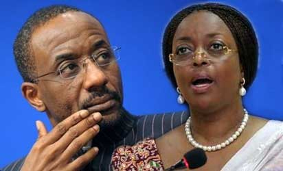 CBN Gov, Sanusi and Minister of Petroleum Resources, Alison-Madueke