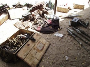 Ammunitions used the Boko Haram insurgents